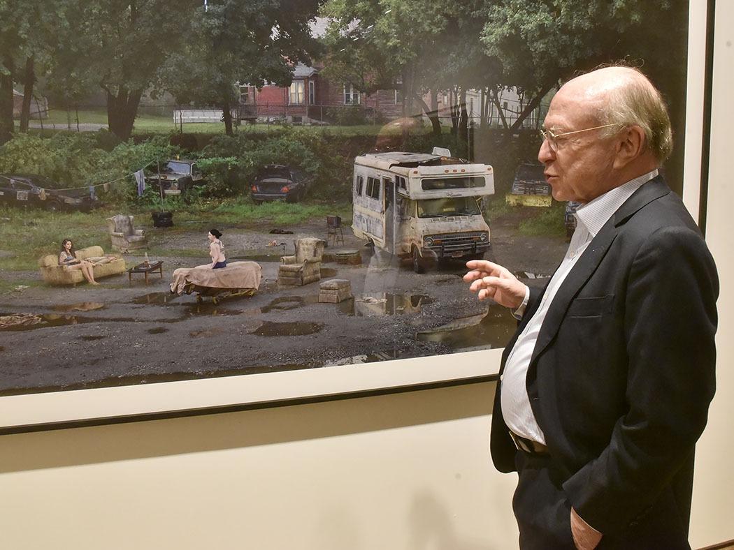 Daniel Templon présente le travail de Gregory Crewdson An Eclipse Of Moths