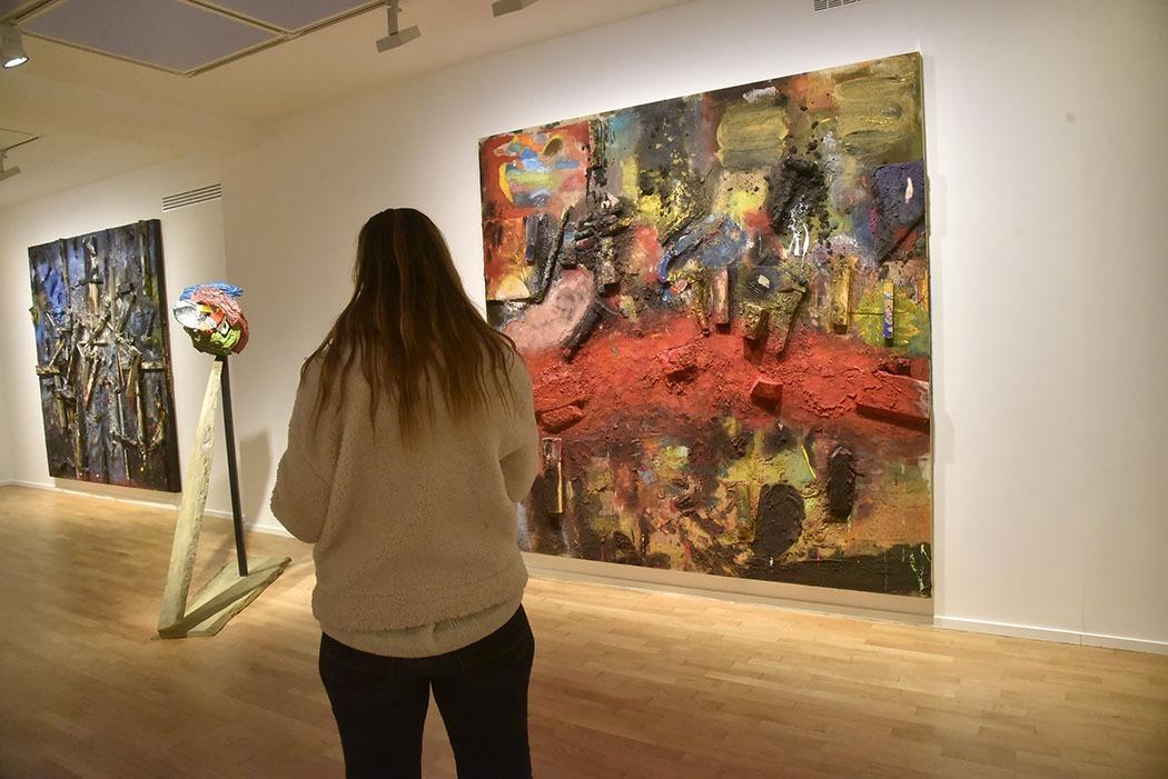 Galerie Templon Rambuteau ambiance A Day Longer Jim Dine