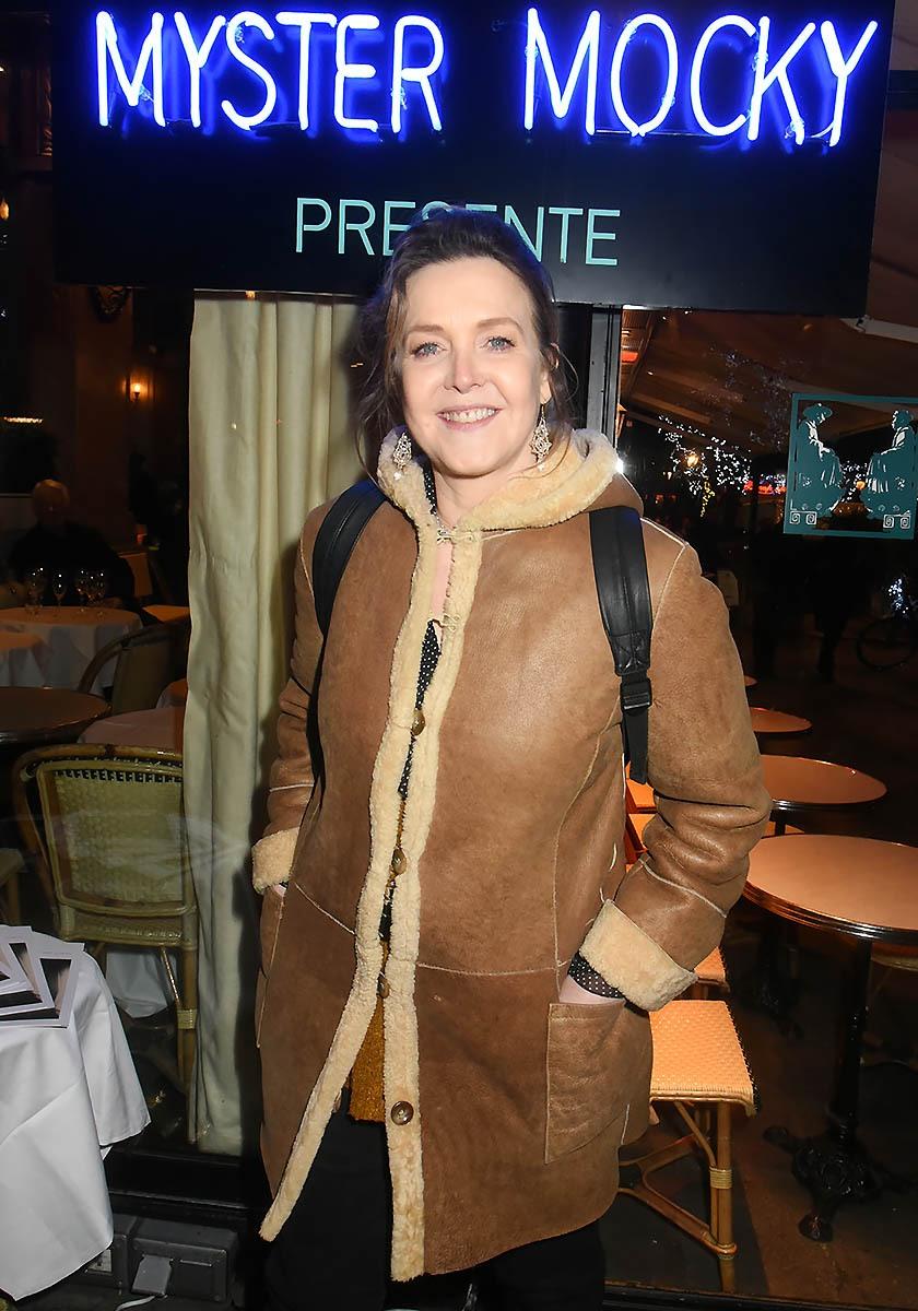 Agnés Soral quon a vu dans dernièrement dans «Calomnie» de Mocky est venu lui dire «Tchao Pantin»