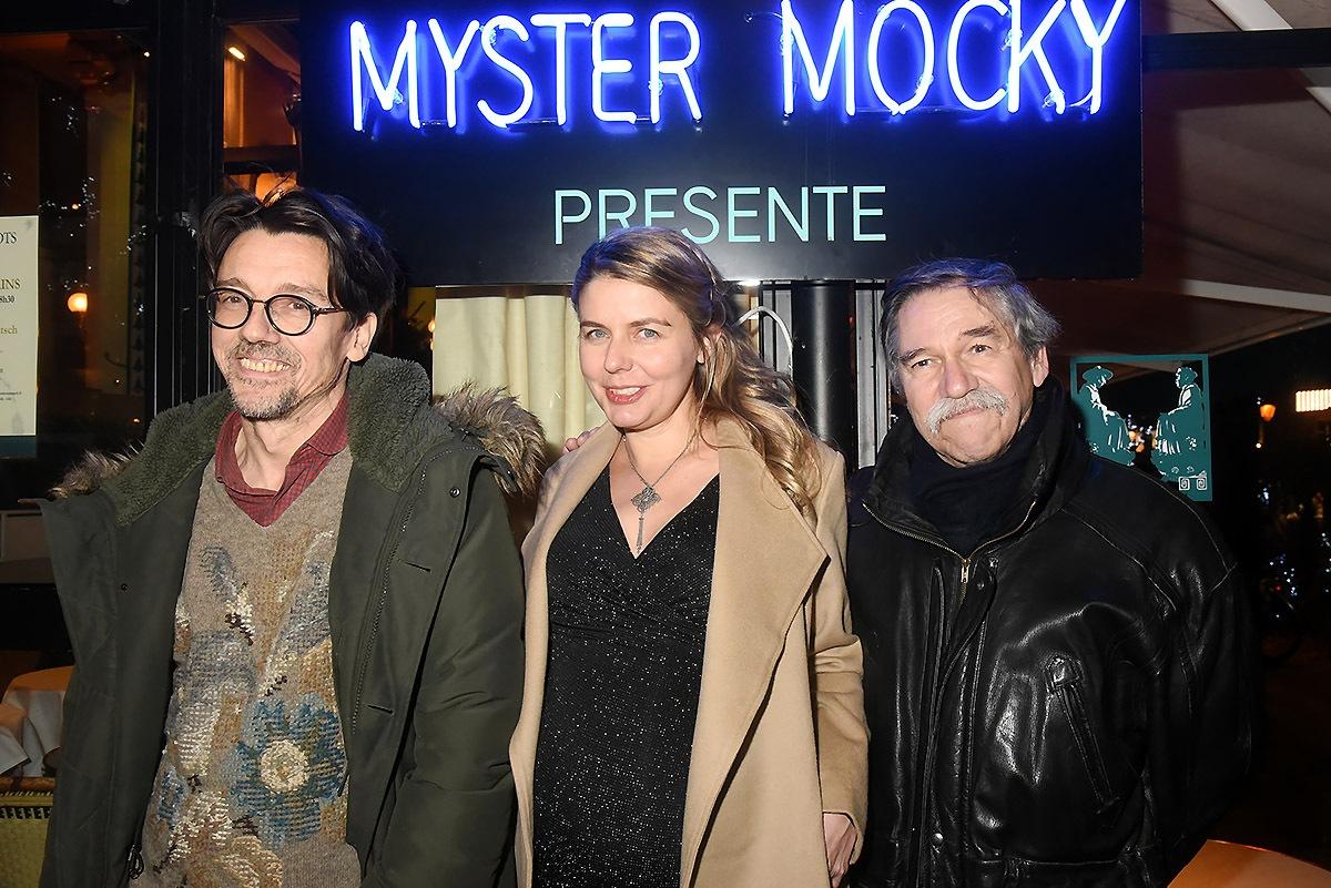 Stanislas Nordey, Olivia Mocky et Frederik Mocky sont les enfants de Jean Pierre Mocky d'une fratrie de  17! Quel santé!!