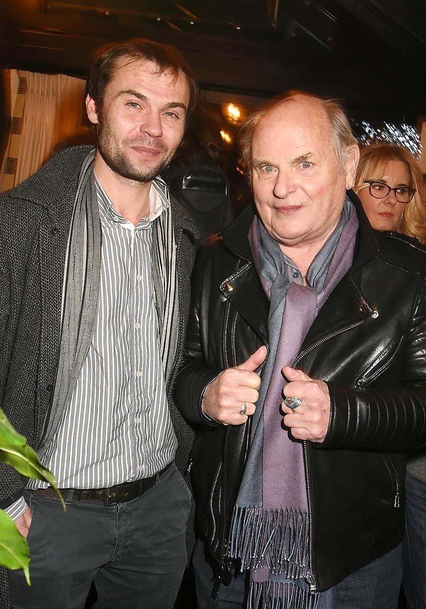 Robinson et Jean Francois Les Stevenin sont venus en Famille