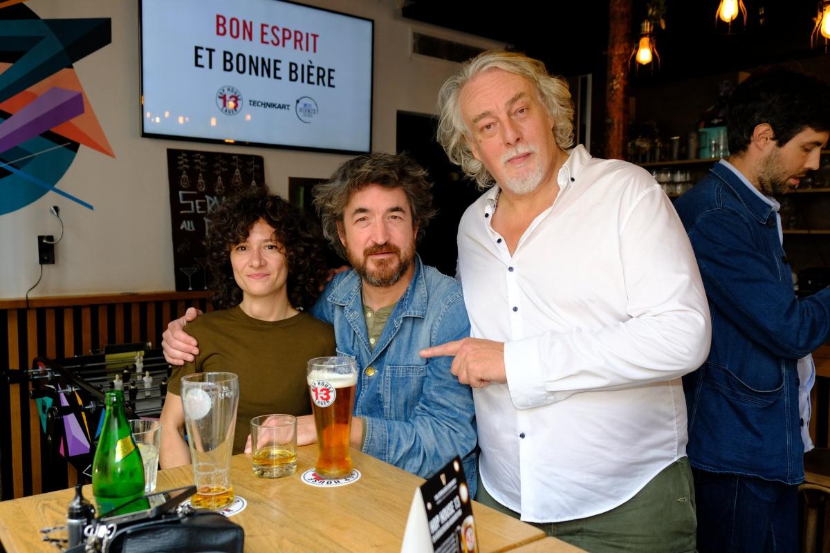 Etienne Druihle et Taz avec Jean Croc