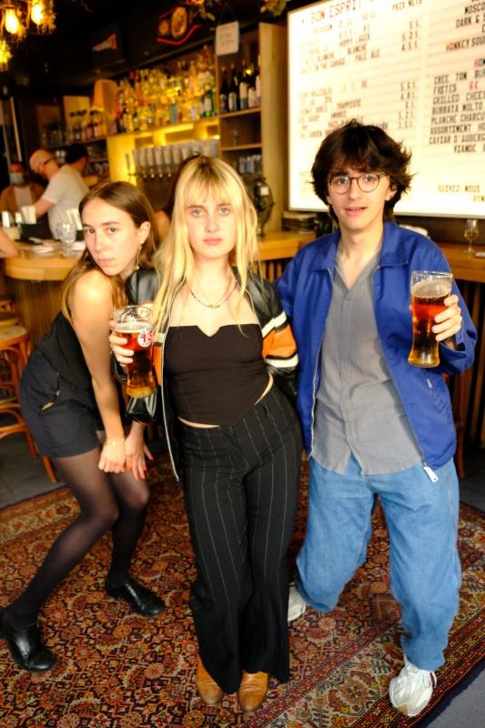 Les fans de Technikart en mode Happy Lager par Guiness ,ont tous Bon Esprit