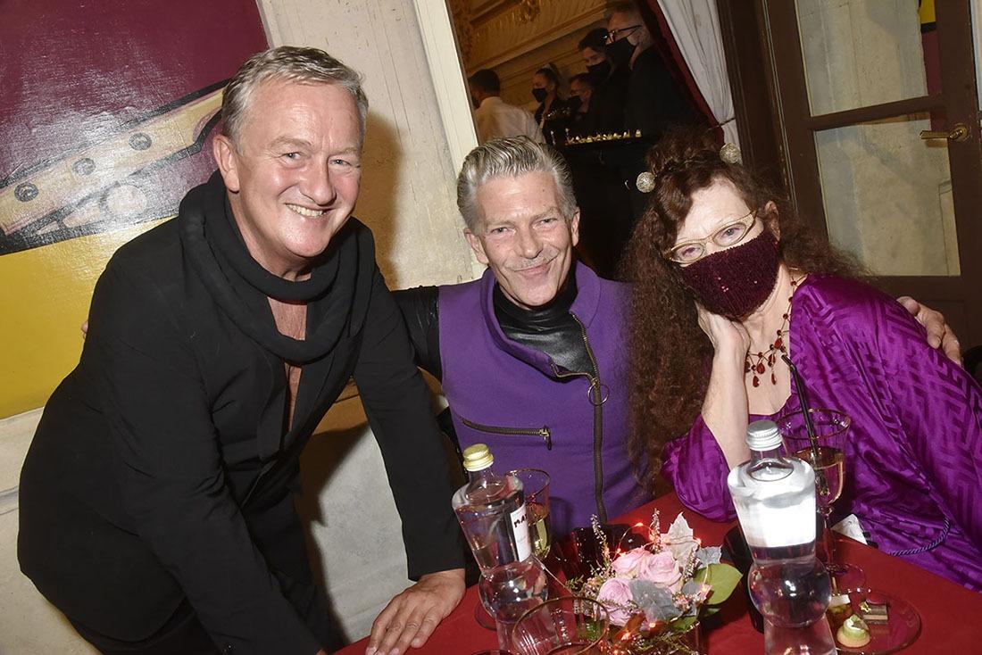 Inséparable trio les deux Oliviers Guillemin Vedrine et Michèle Rimbault