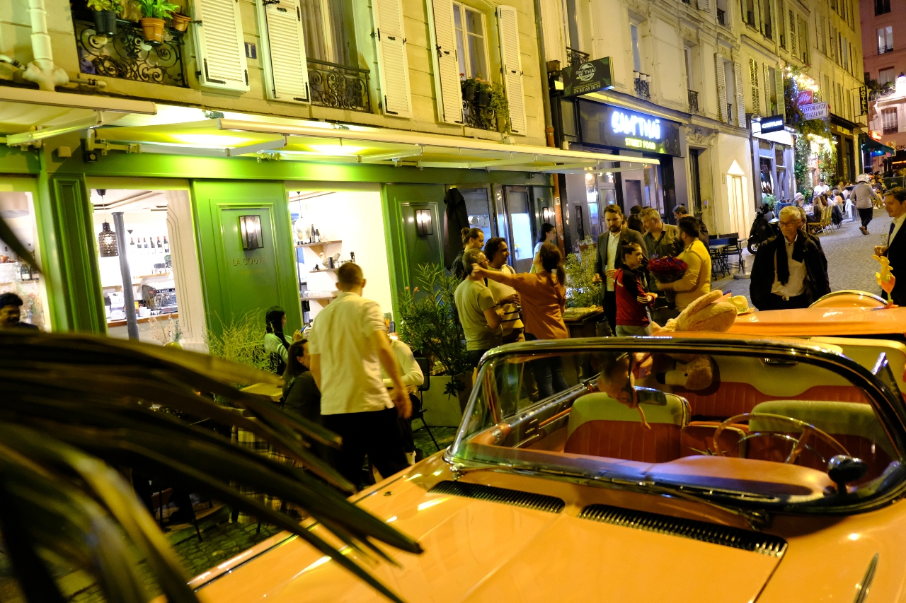 LA Couvée resto bstronomique au 32 rue Véron PAris 18