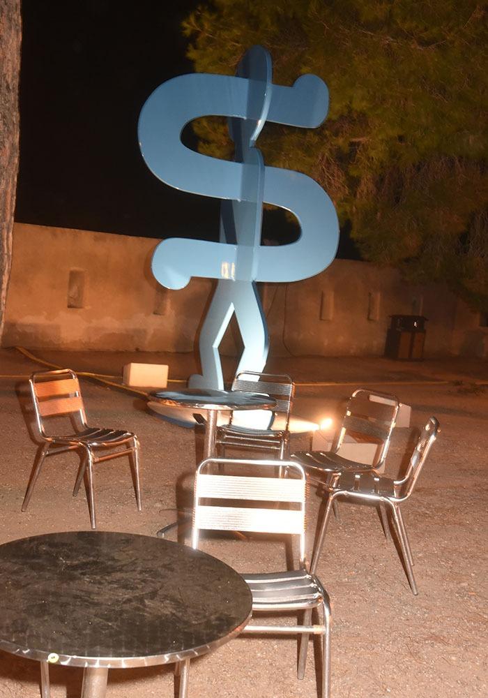 Ici Le Dollar Man de Keith Haring donne le change