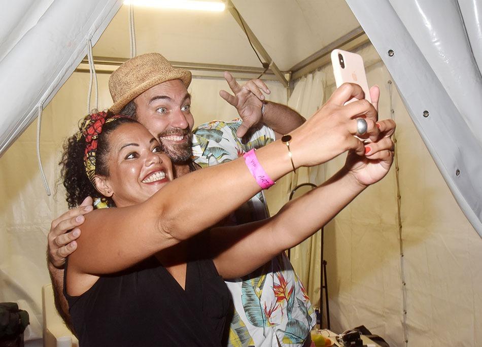 Zyva Un selfie avec le bibi de Joao Selva