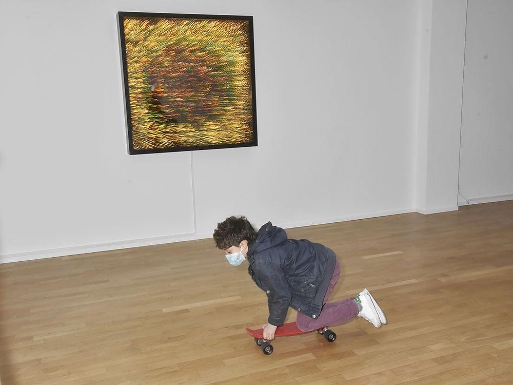 Chez Daniel Templon Les futurs Van Gogh filent tagada en goguette
