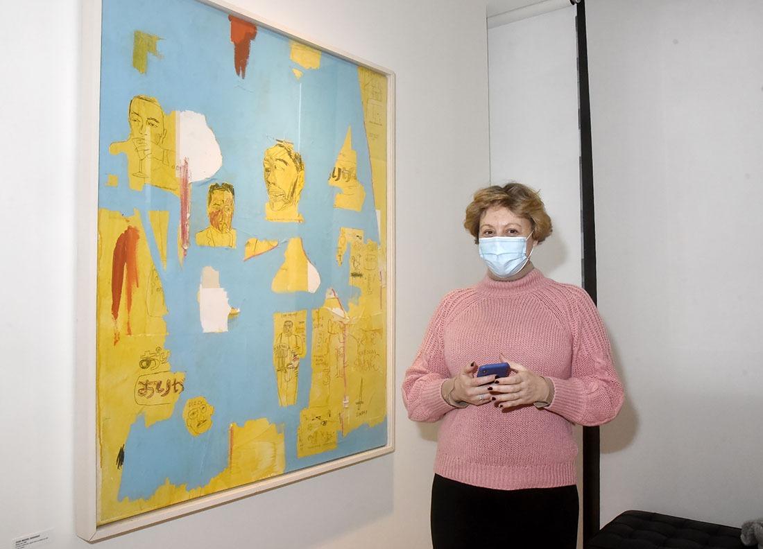 Elisa Grava est grave baba de Basquiat