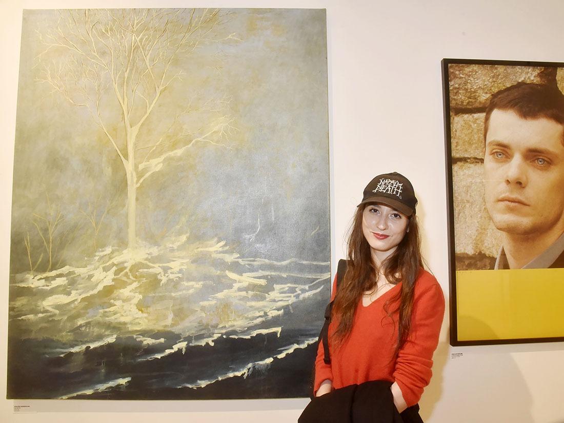 Les historiens de L'Art vous le diront Ségolene Haenhsen Kan est une peintre qui surfe zntre le post 1970 et le pré 2070
