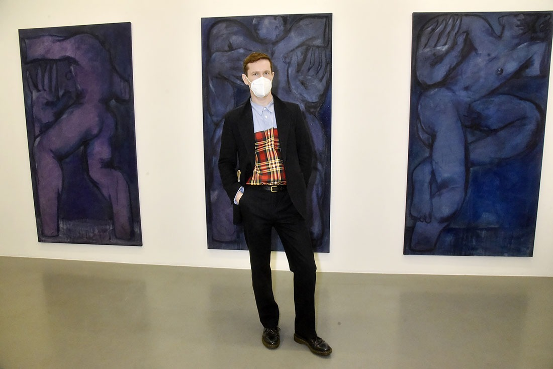 Alex Forton en mode tryptique