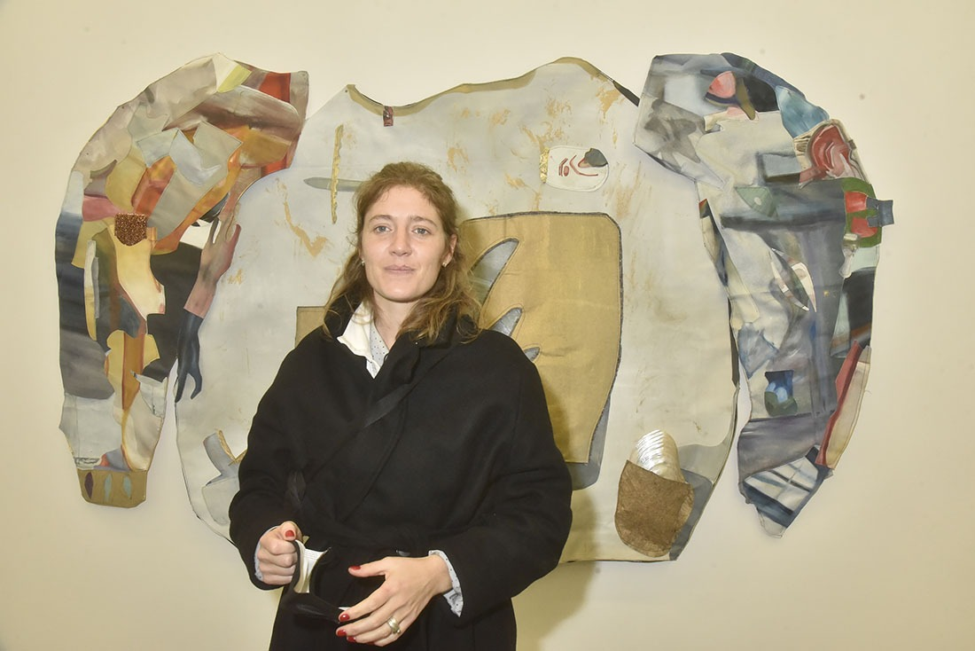Mathilde Denize patchworke des Patchydermes