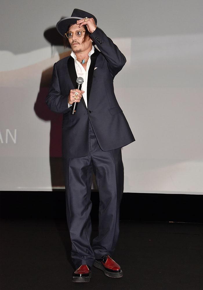 Chapeau Mister Depp !