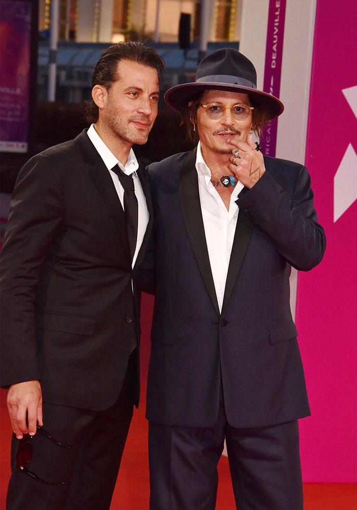 "Johnny Depp et son real Brad Furman débarquent à Deauville "" City Of Lies"""