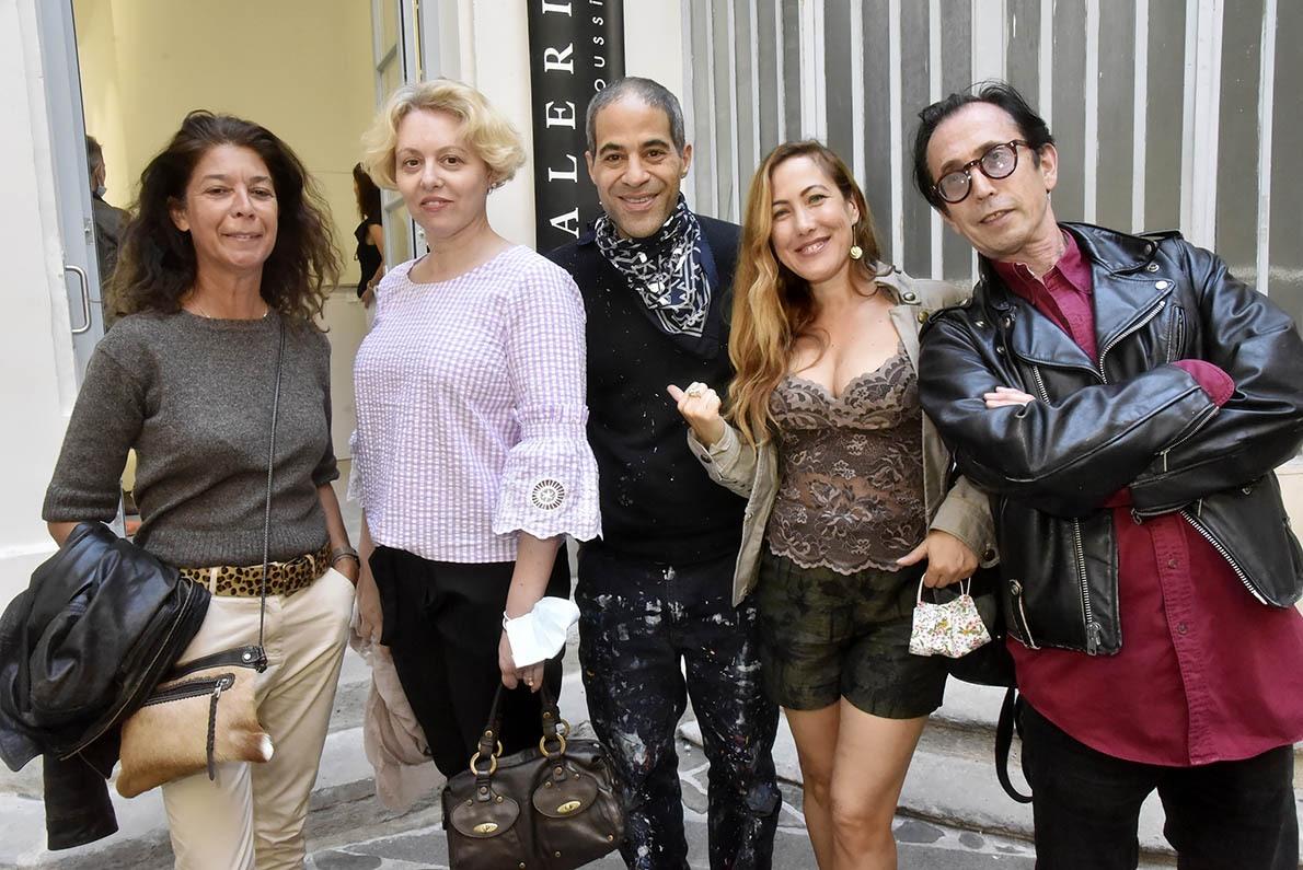 Elisabeth Grava, JonOne, Myriam Charleins et Natan Hercberg Allez une fresque des familles avec l'artiste !!