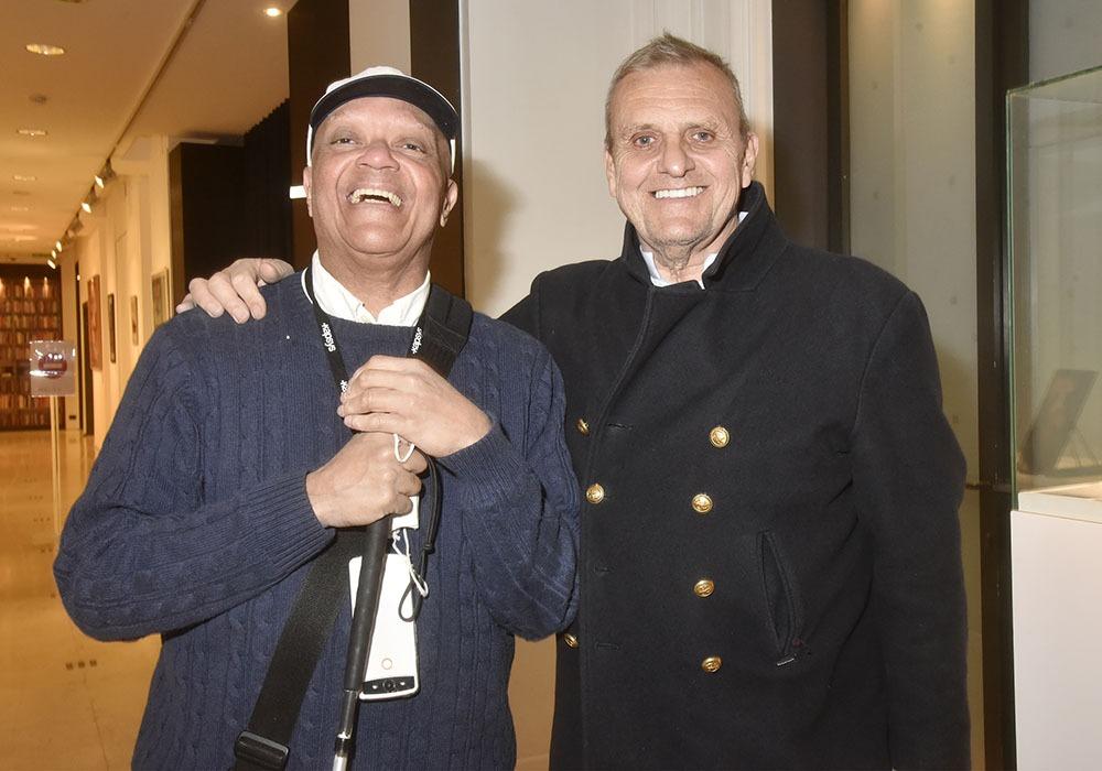 Guy Cuevas et Jean Charles castelbajassent