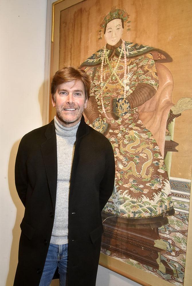 Jean Christophe Laizeau de chez LVMH Ruinart en mode Mandarin