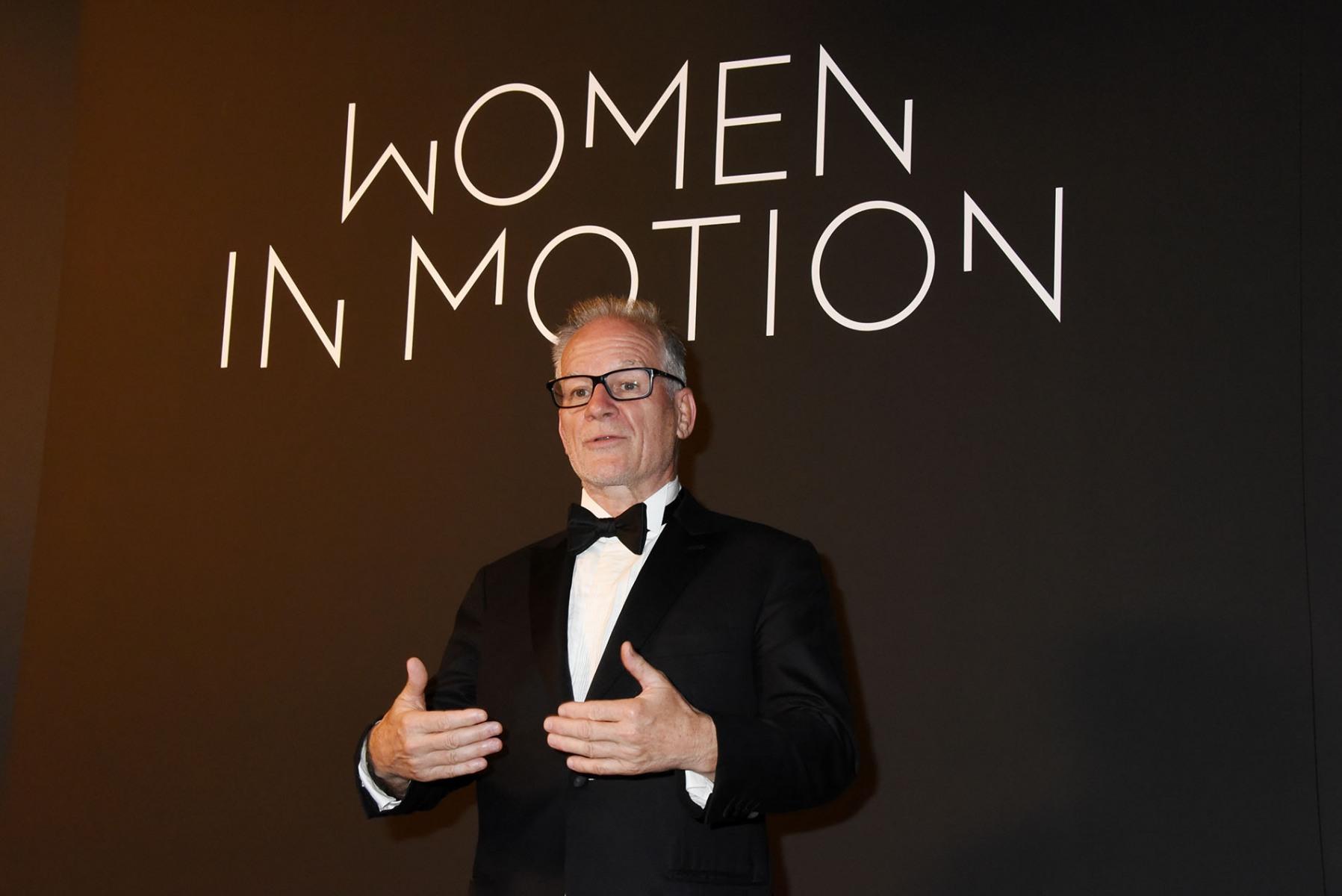 """""""Women In Motion"""" ? Thierry Fremaux perd un peu de son latin sous le coup de l'émotion"""
