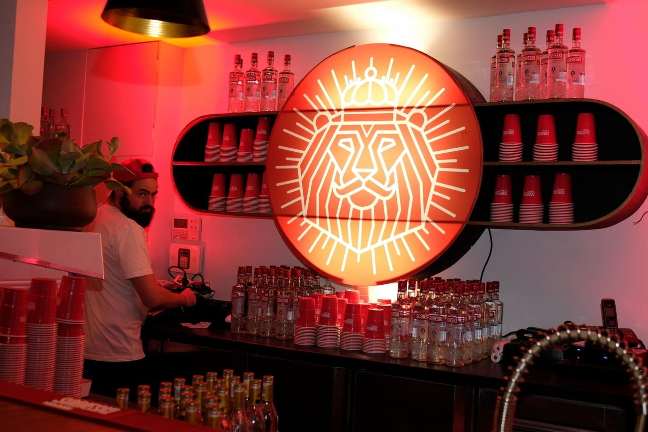 Le bar aux couleurs de Sobieski