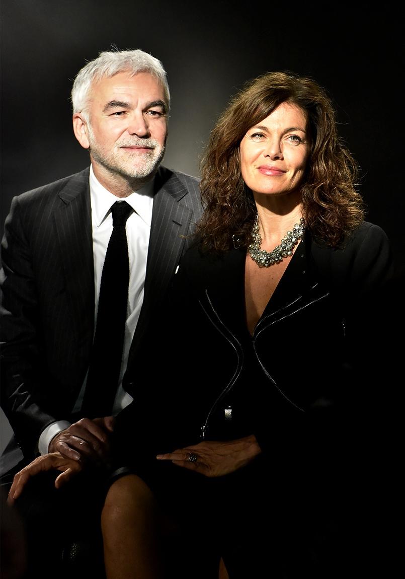 L'heure des Pro : Monsieur Et Madame Praud photomatonnent un max chez Harcourt