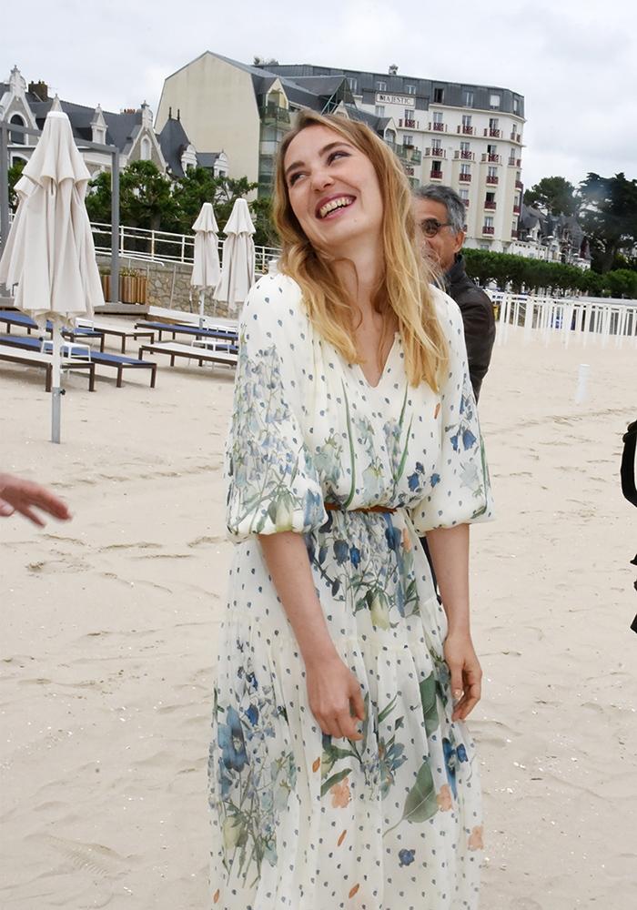 A la Baule Deborah Francois se gondole à Venise comme une baleine