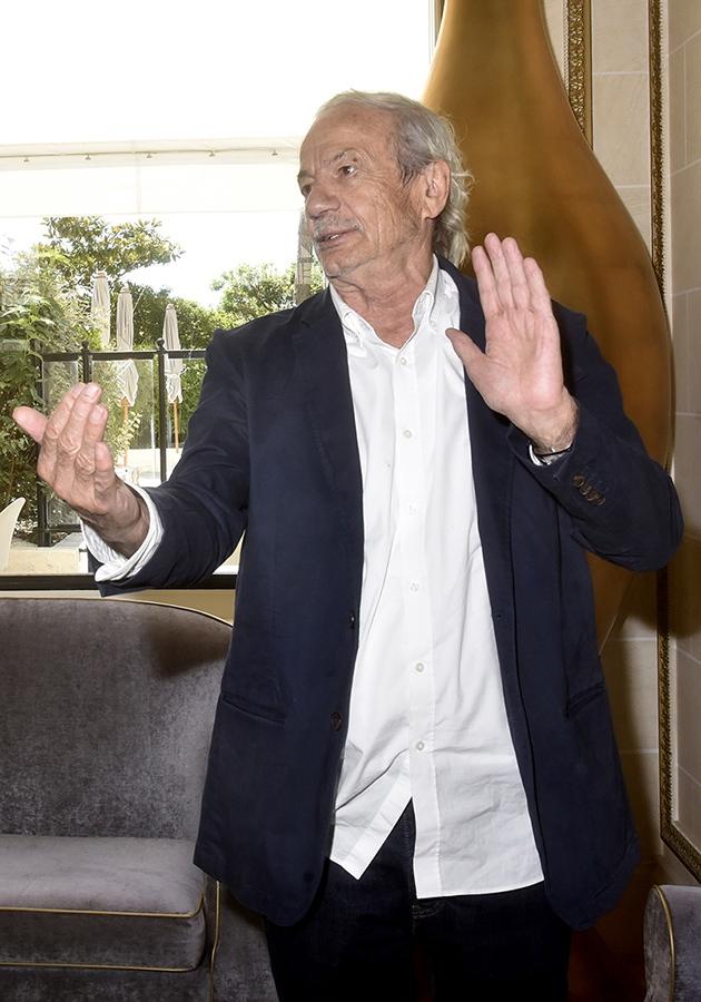 Il a vu de la lumière à l'Hermitage Hotel Patrick Chesnais ne fait que passer !