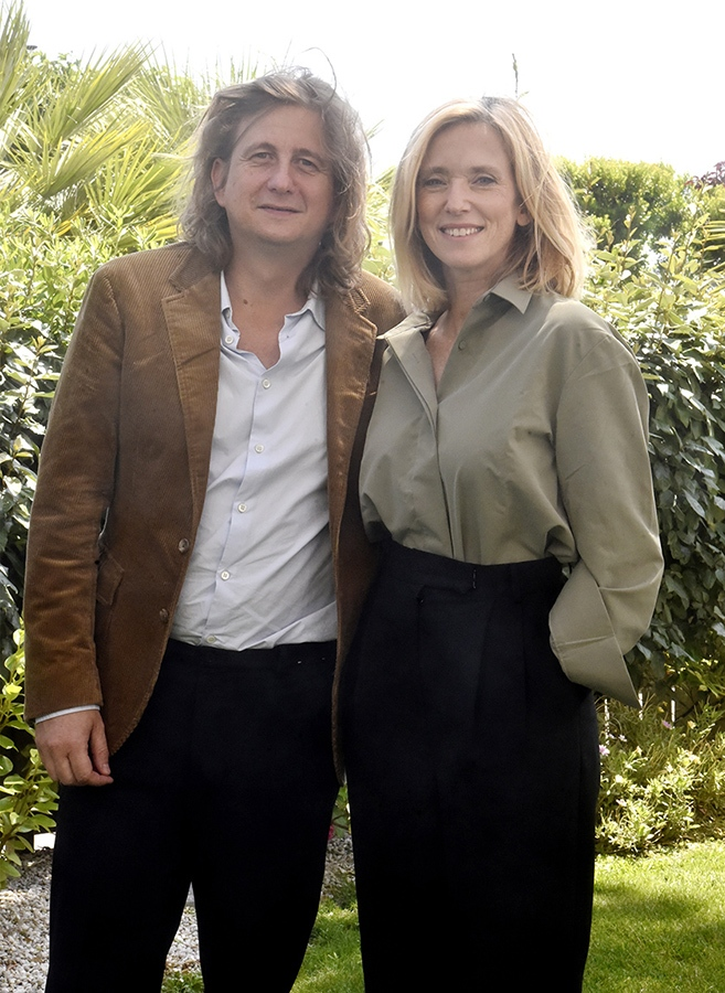 Lea Drucker Siamoise avec son real Julien Rambaldi