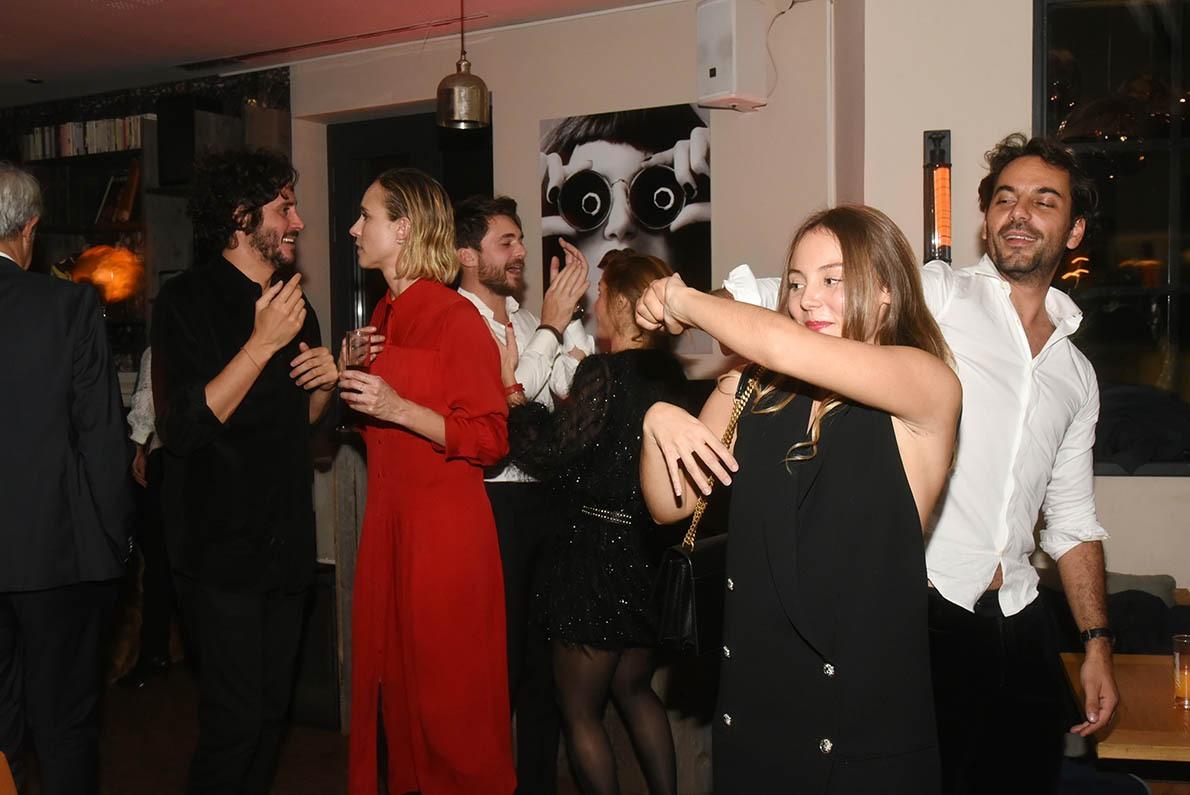 A La Baule Festival After Party Maison Pavie on y danse on y danse! Sur de la musique de film bien sûr!