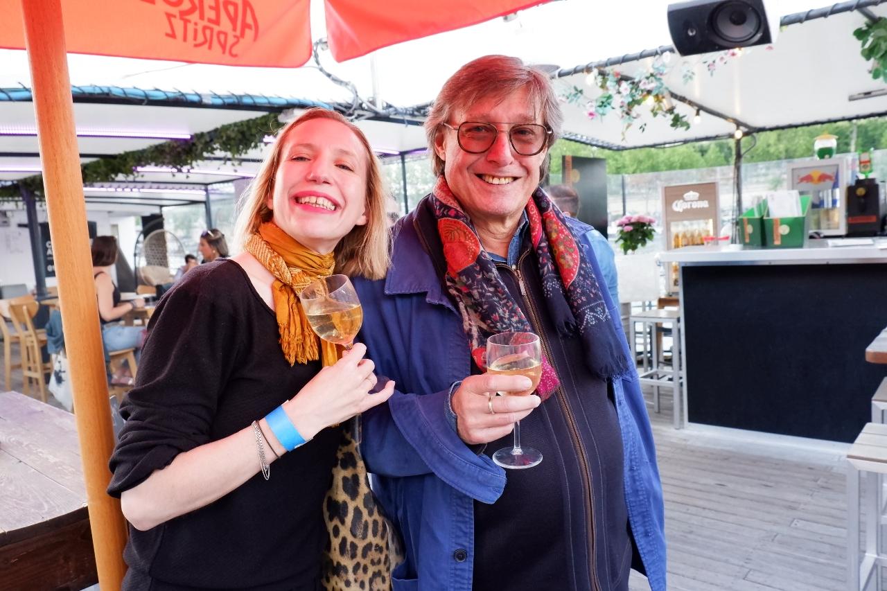 Florence de Valencourt et Michel Katz