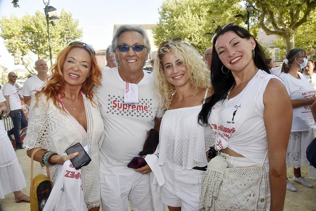Peter de chez «Peter et Sloane» et la Girls band des «On N'est Pas Des Gamines»