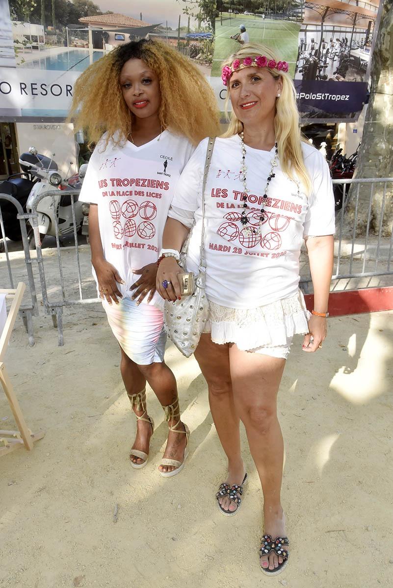 Pour cette compète Obone Ze Ruth Martha Gonzales sont venues de Monaco en goguette