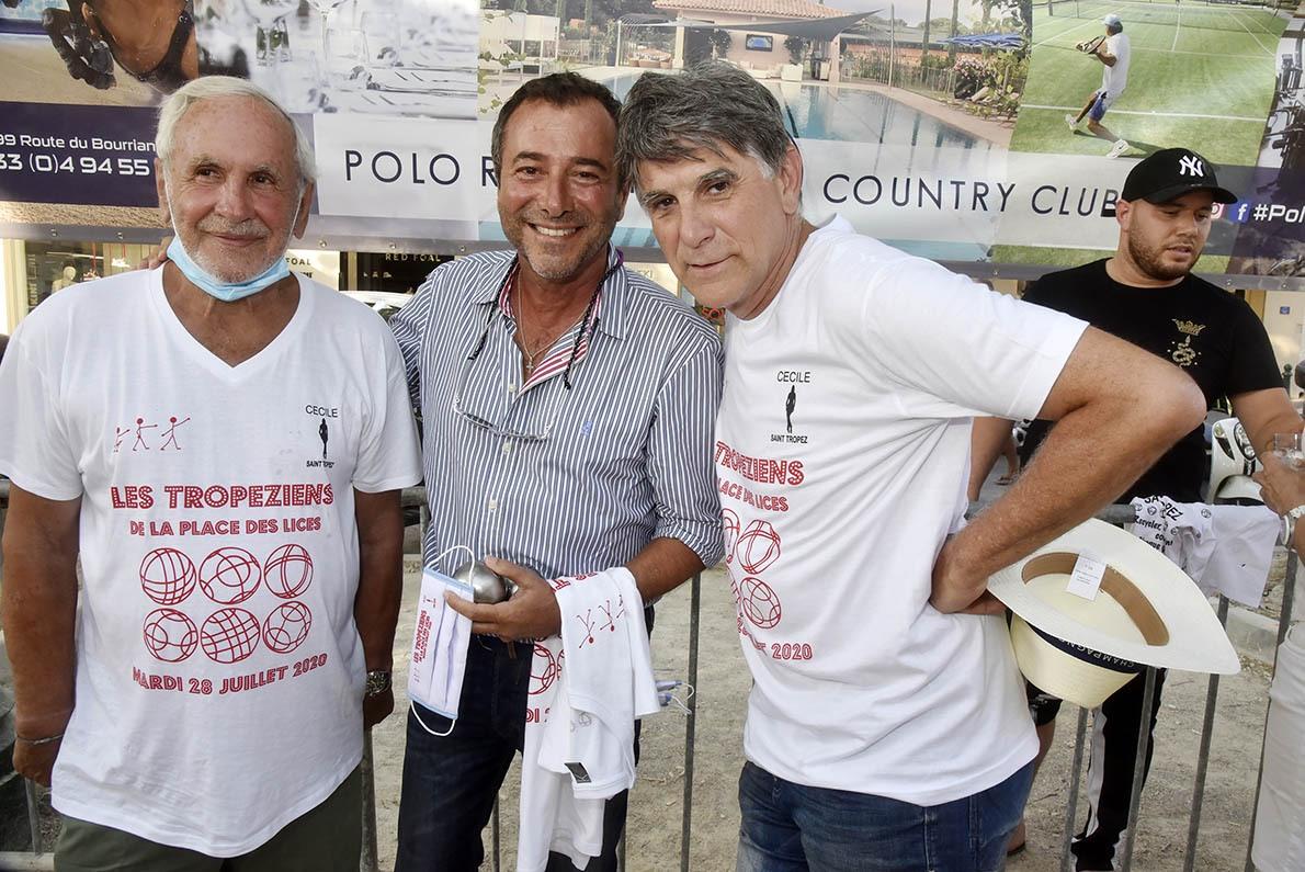 Trio Bravo Patrice Laffont, Bernard Montiel et Tex