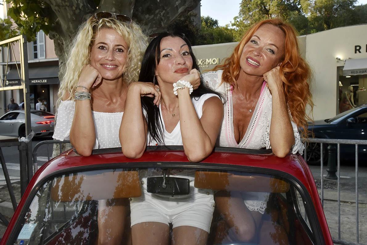 Vanessa, Muriel et Sandry Girlsbandent dans «On N'Est Pas Des Gamines»