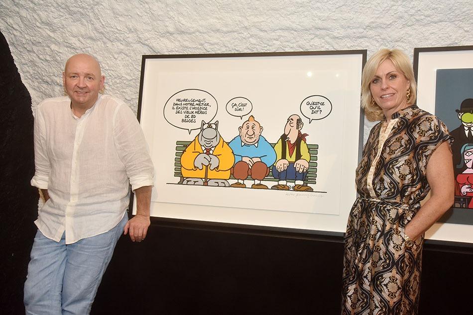 La preuve que Le Chat rajeunit aussi bien de 77 à 7ans que Tintin et Lucky Luke