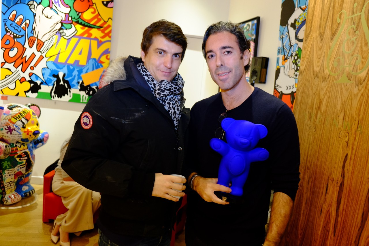 Edouard Rossetto et un ami