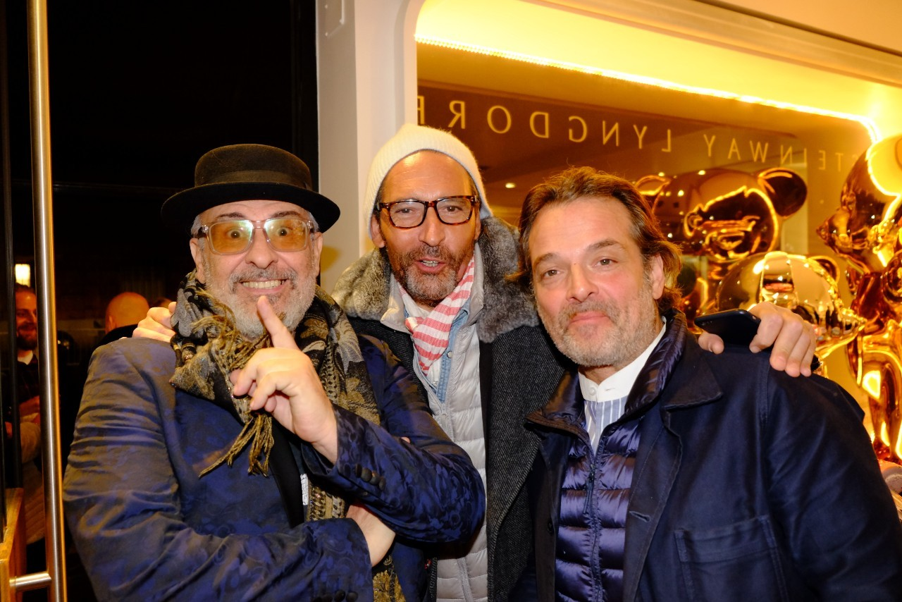 Jacky Jayet, Nico Lévy et JP Lopez