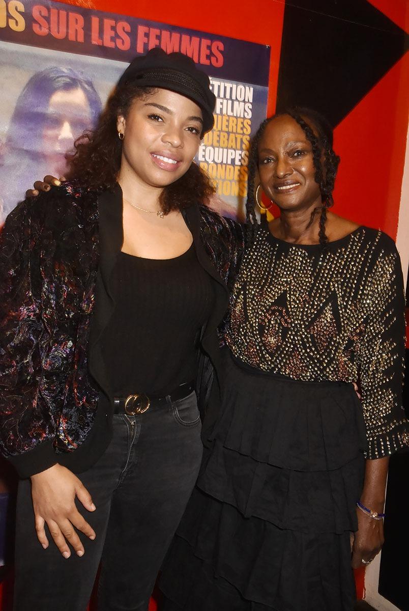 Jina Djemba tournerait volontiers dans un film Black Gangsta de Rahmatou Keita