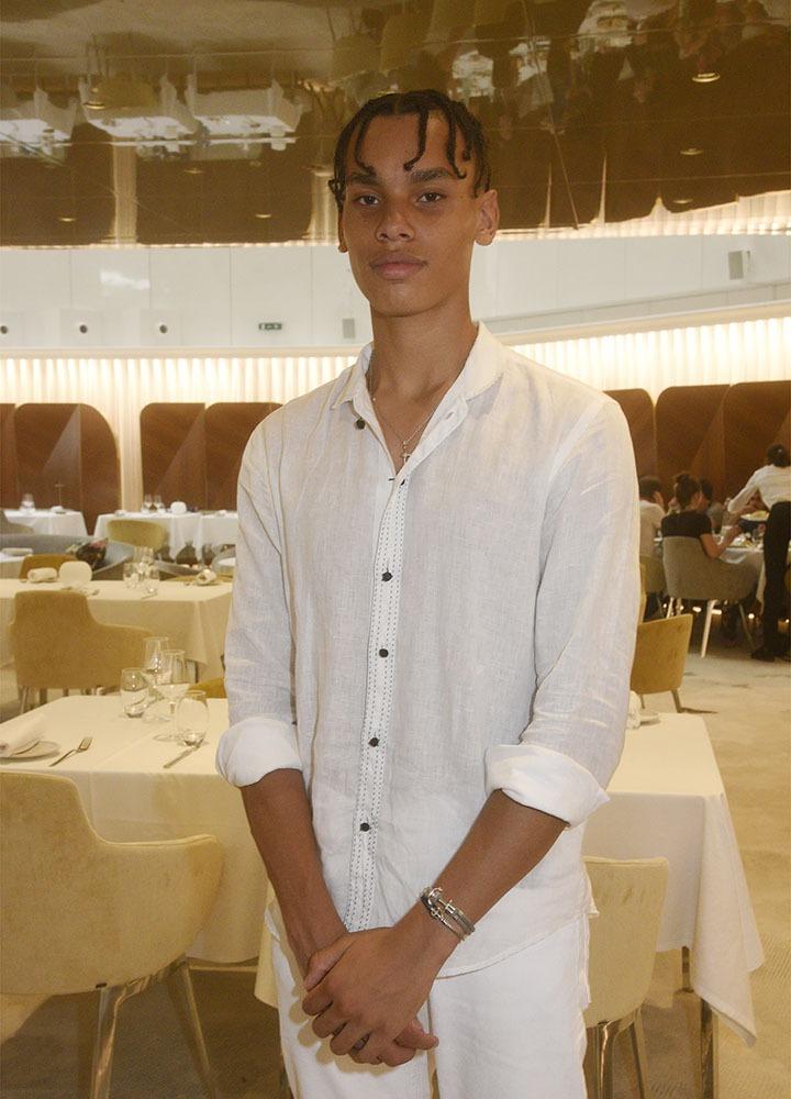 Ce beau jeune homme c'est Alexandre Grimaldi Coste Yess le fils d'Albert de Monaco !