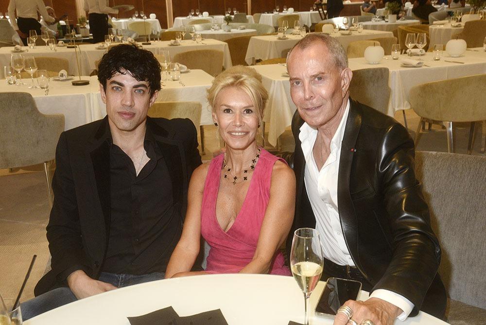 Julien Landais, Axelle Marine et Jean Claude Jitrois en mode « triumvirat »