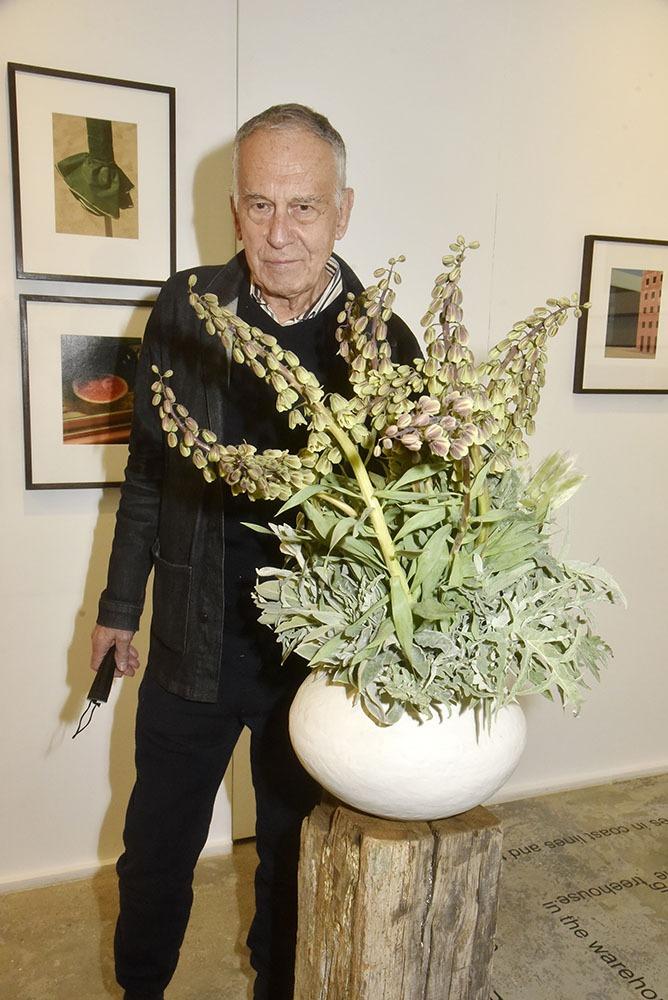 Yvon Lambert a été fleuriste dans une vie antérieure !