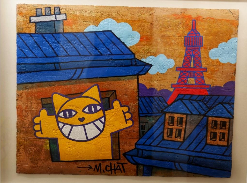 """Apres  """"C'est pas le Pérou"""", M Chat est de retour a Paris avant un été bien rempli"""