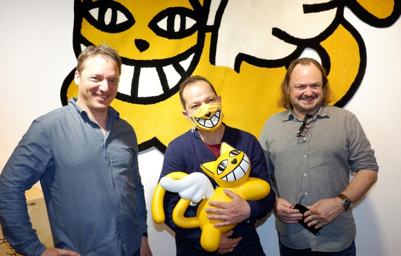 Eric Brugier, M Chat et Laurent Rigail