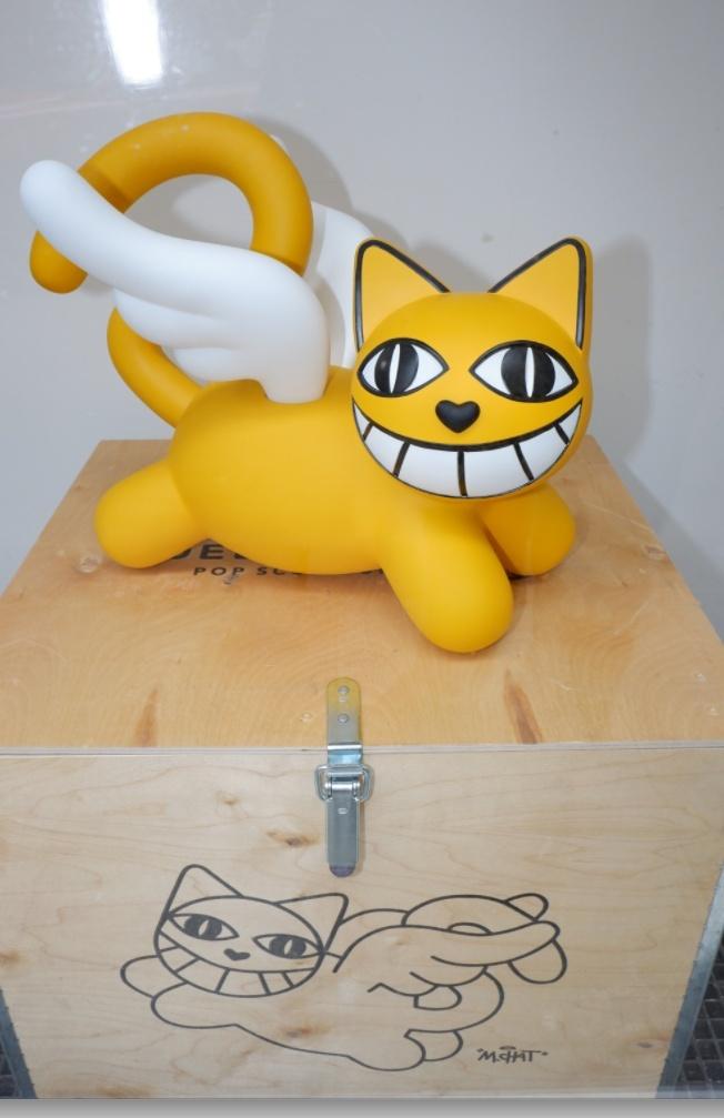 Le Chat en mode sculpture une edition limitee.