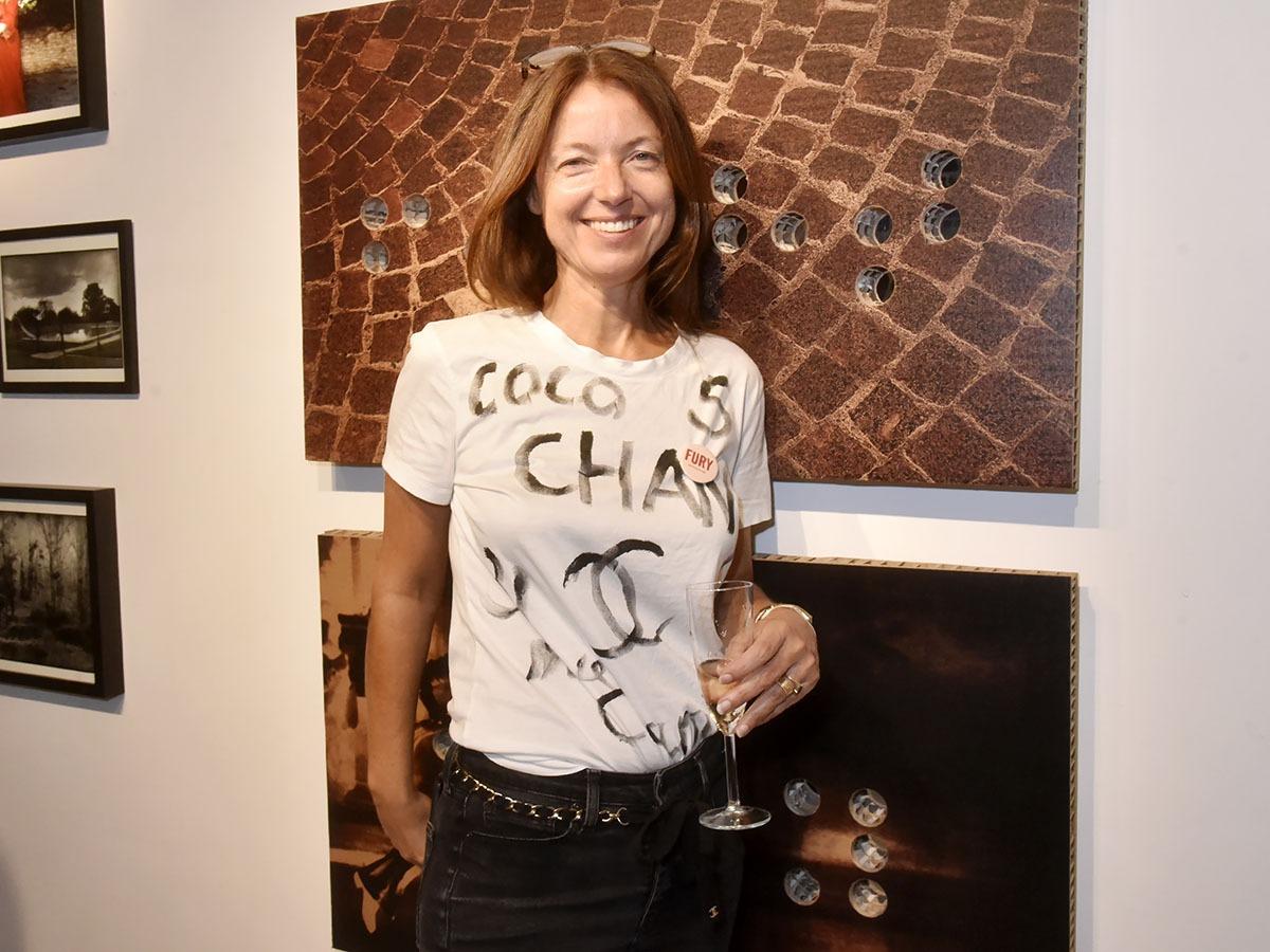 Armelle Leturcq de la Galerie 22 Visconti est plutot Numéro 5 de chez Charnel