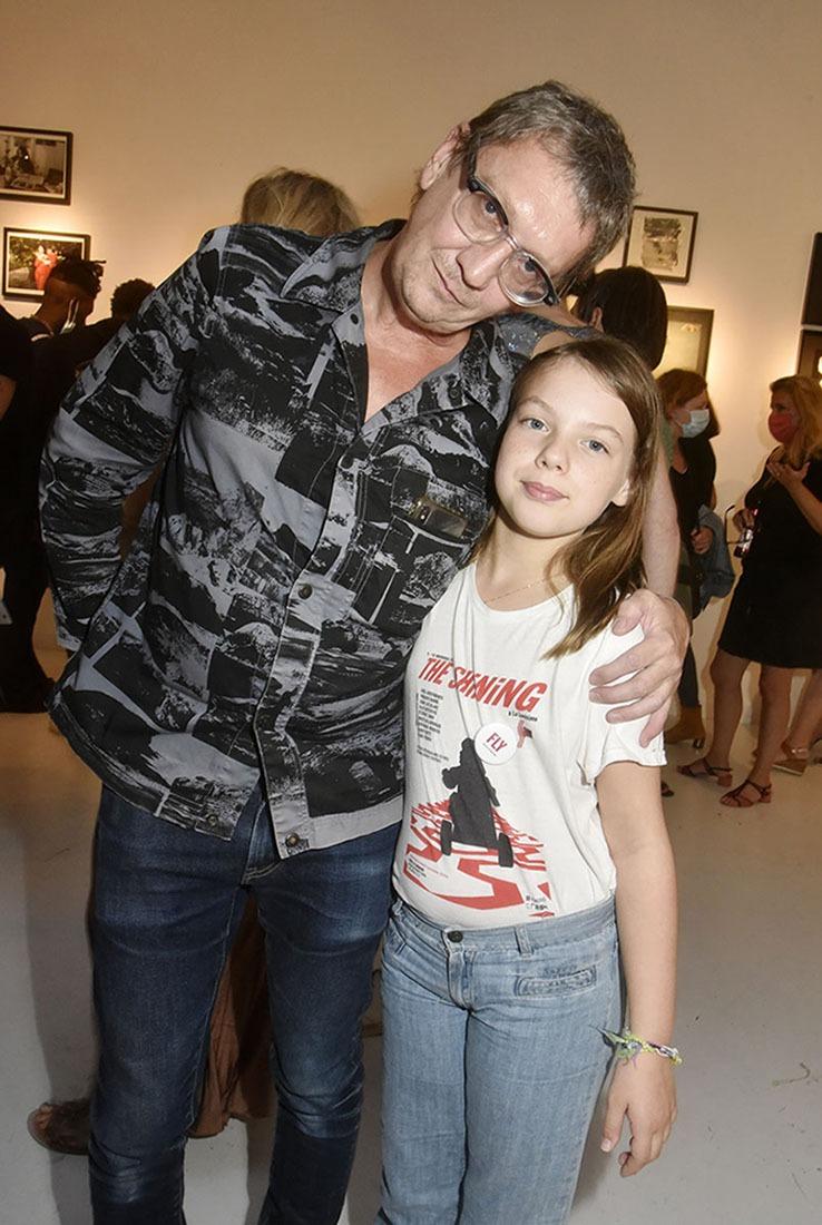 Frank Perrin fier de sa fille Tess jeune fan de Stanley Kubrick