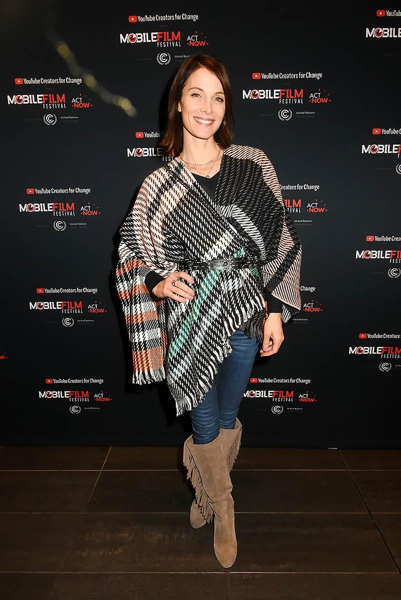 La ravissante Laetitia Fourcade Apres Le Prix de La Loyauté bientôt dans «Pocahontas Fille de Cochise»