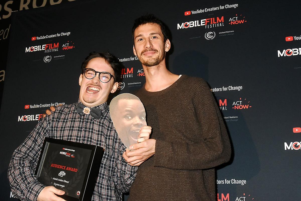 Le Prix du Public revient au désoplilant Levilain Clément et son pote Robinson Senpauroca