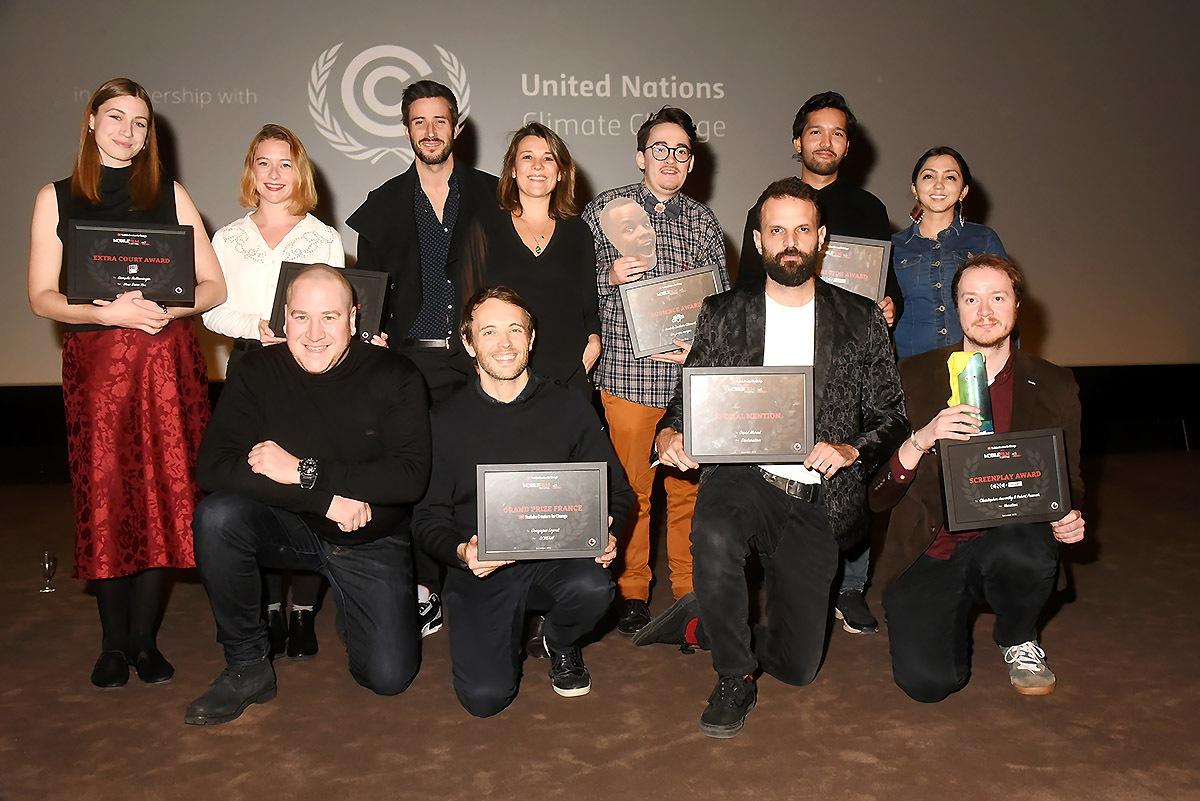 Mobile Films Fest 2019 Les Winners avec Emma de Caunes cheesent