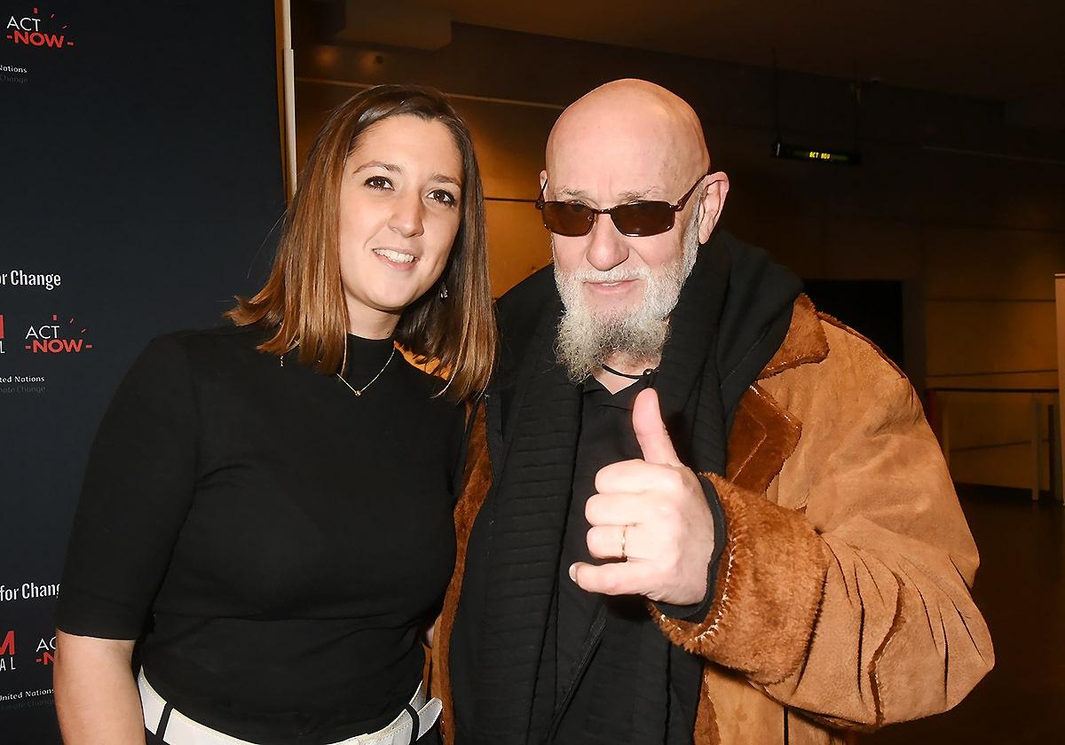 Shaane Couture et beau papa CharlElie
