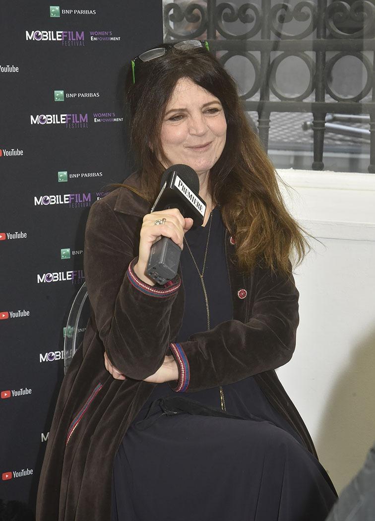 La ou Agnes Jaoui jouit de la presidence du jury du Mobile Film Festival 2020